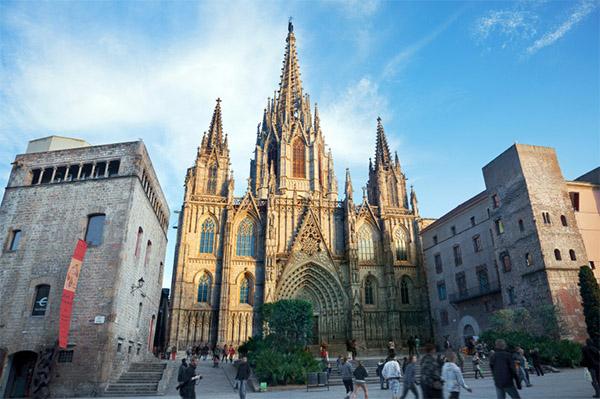 La catedral de Barcelona